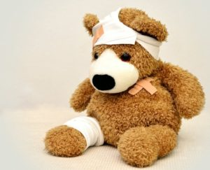injured-toy-bear