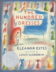 Book cover for The Hundred Dresses by Eleanor Estes