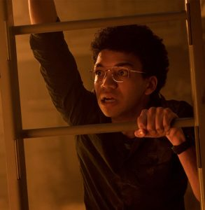 Justice Smith as Franklin Webb