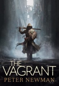 Book cover for The Vagrant by Peter Newman