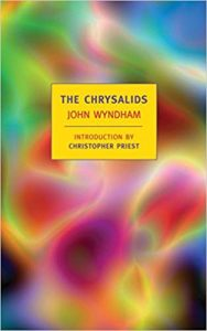The Chrysalids by John Wyndham book cover.