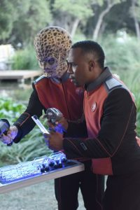Mike Henry and J. Lee in The Orville